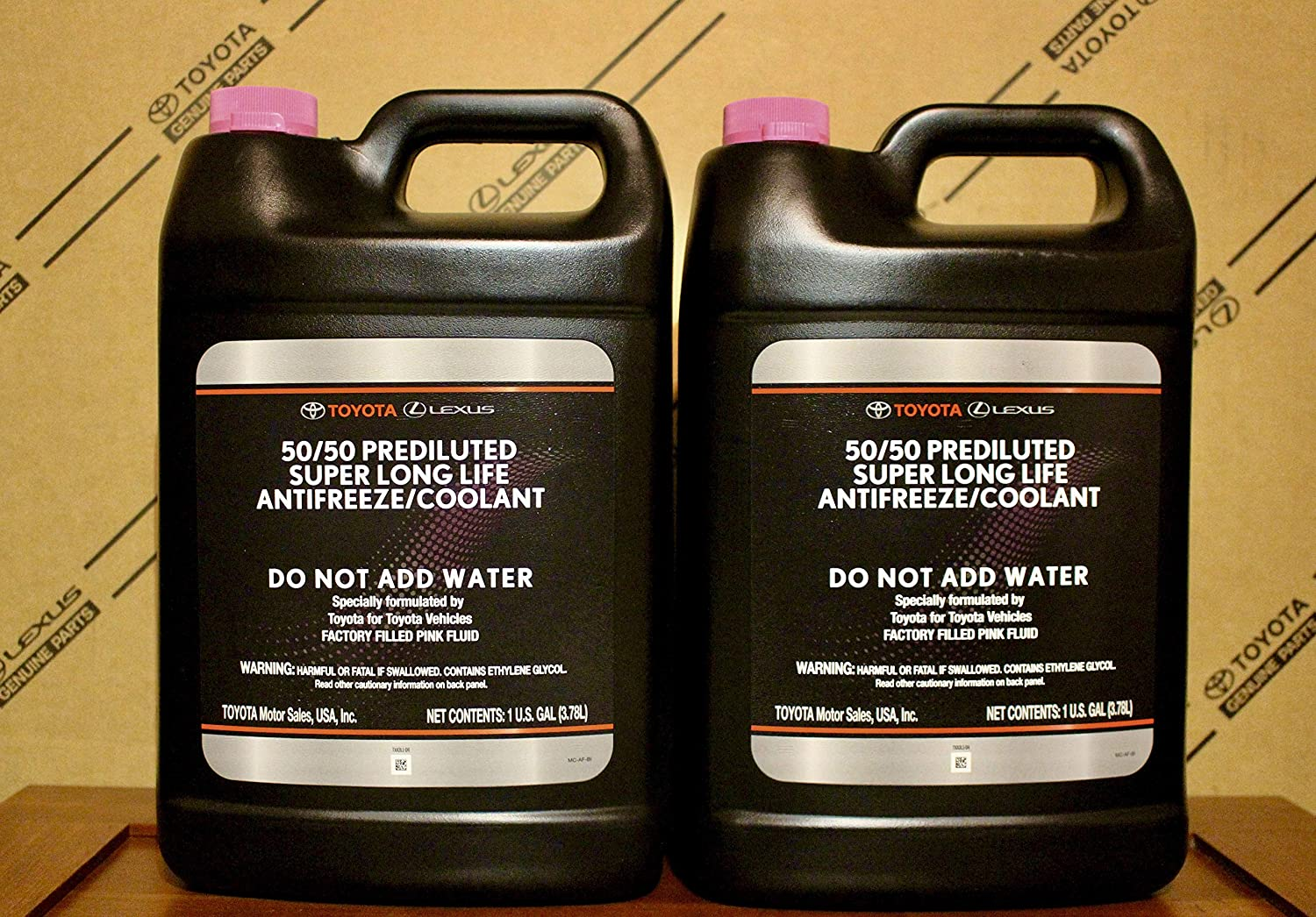 Set of 2 Toyota-Scion Engine Coolant / Antifreeze Genuine 00272SLLC2