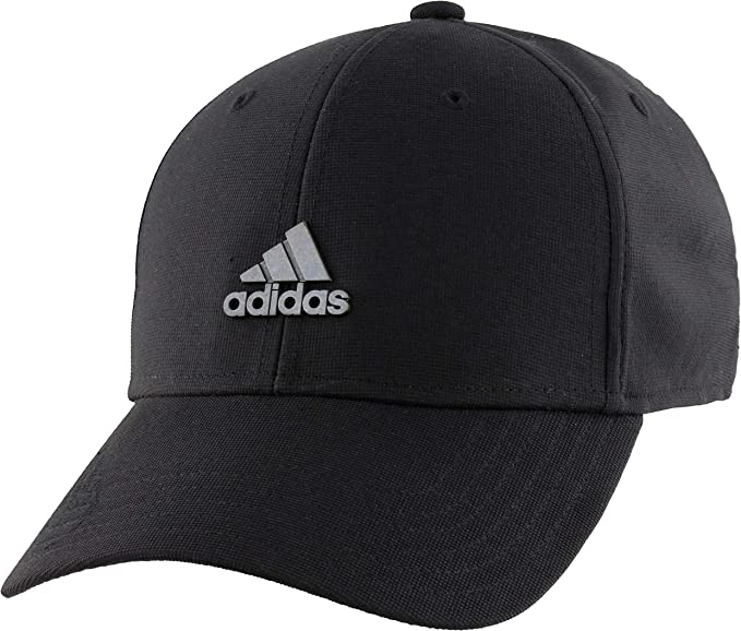 New Black Flexible Fit Fitted Baseball Cap No Adjustments Needed Size Large//XL