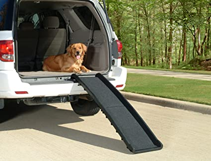 Dog Ramp For Truck >> Amazon Com Petsafe Solvit Ultralite Bi Fold Pet Ramp 62 In