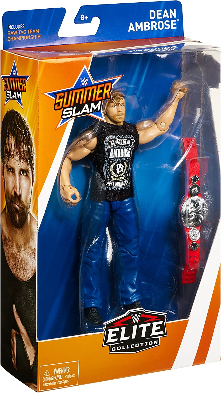 "Dean Ambrose-WWE Elite /""SummerSlam 2018/"" Mattel Jouet Wrestling Action Figure"