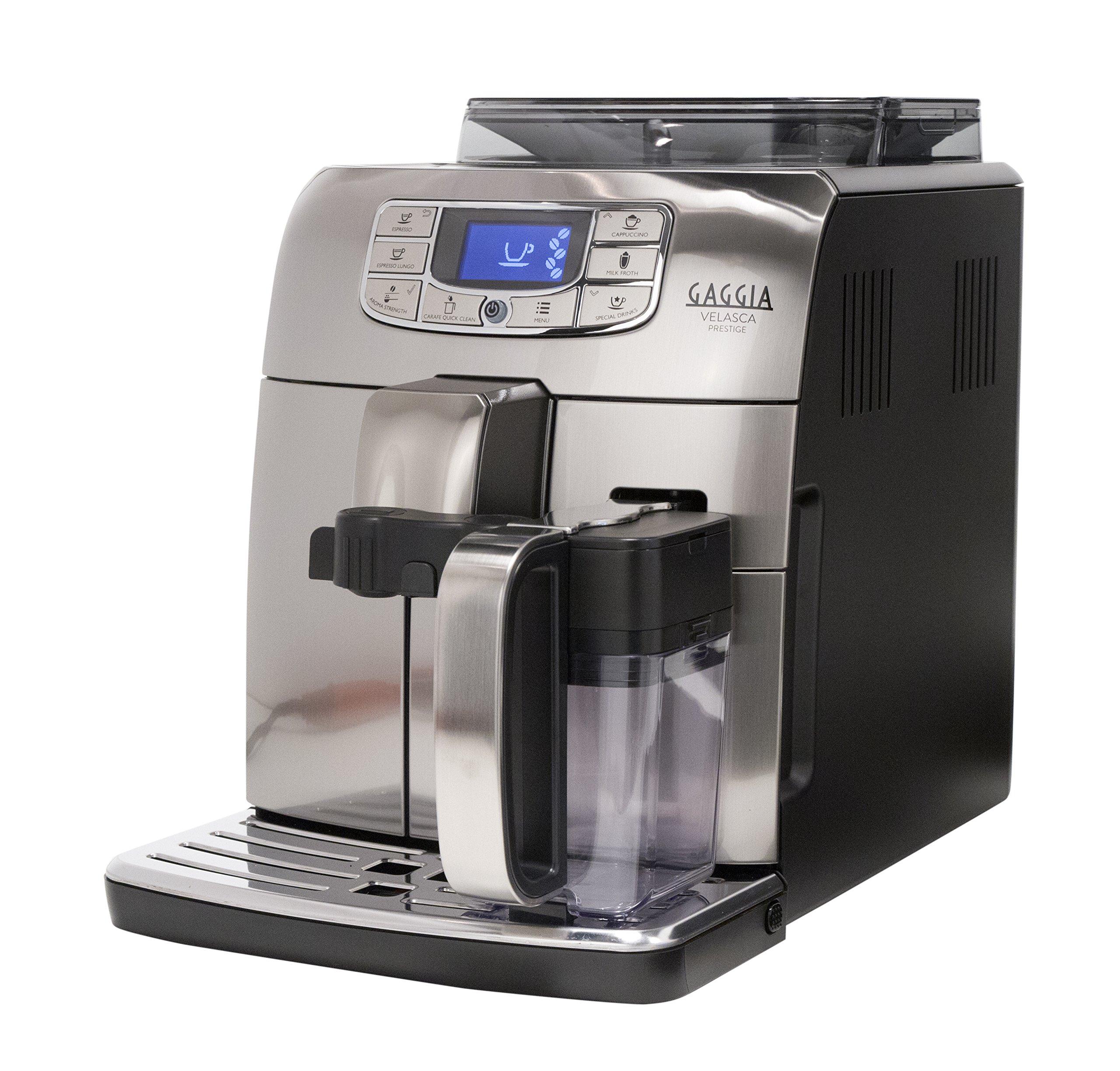 Gaggia RI8263/47 Velasca Prestige Espresso Machine, Stainless Steel by Gaggia