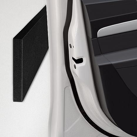 ECENCE 4X Protector para automóviles de Las Puertas del garajes Paredes 40x12x1,5cm