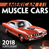 American Muscle Cars Mini 2018: 16 Month Calendar Includes September 2017 Through December 2018
