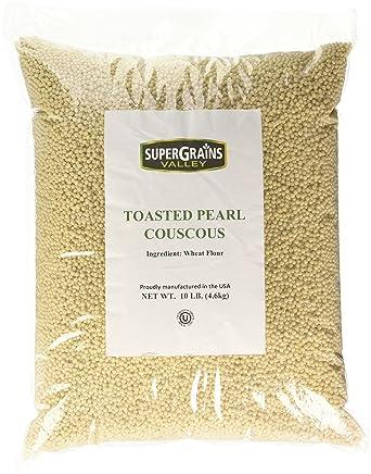 Couscous de perlas tostadas – bolsa de 6.6 lbs.: Amazon.com ...