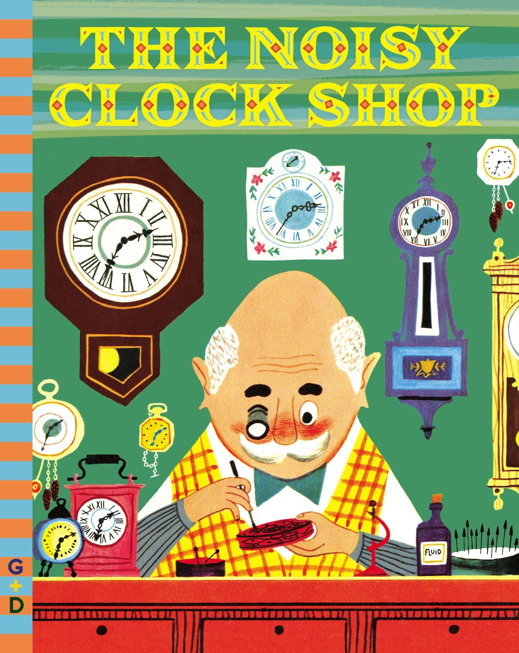 The Noisy Clock Shop (G&D Vintage) ebook