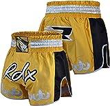 RDX Pro Muay Thai Fight Shorts MMA Grappling Kick