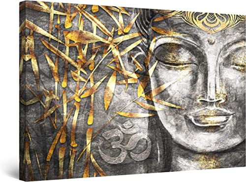 Startonight Canvas Wall Art Decor Bodhisattva Buddha Painting