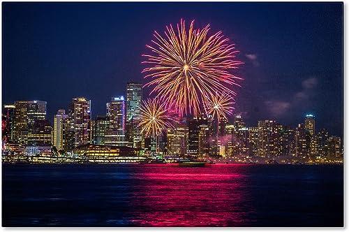 Vancouver Fireworks Artwork