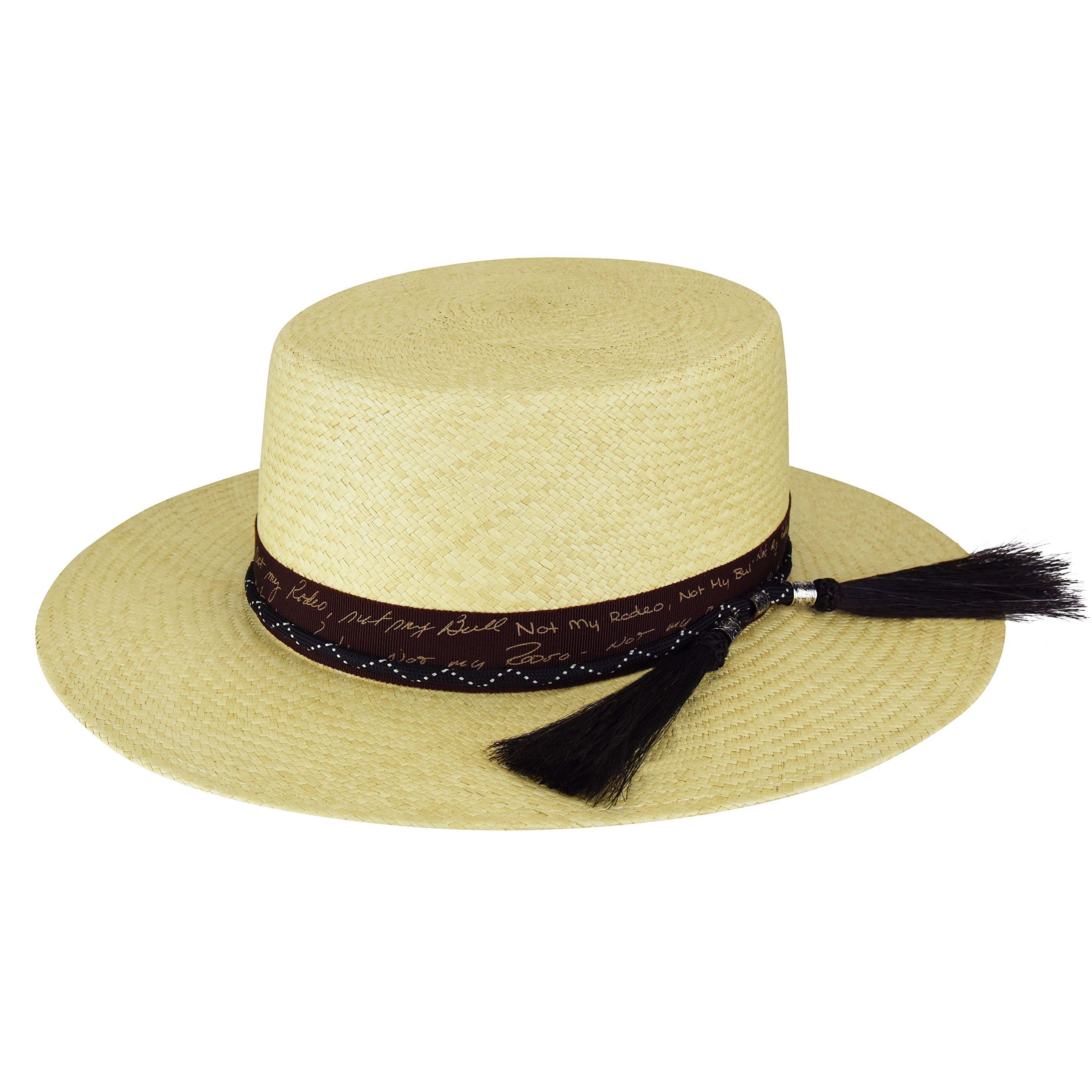 Bailey Men's Santee Bolero Crown Western Hat Natural Large