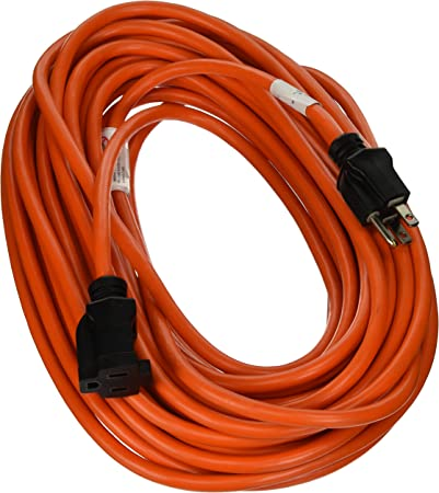 Home Improvement 50-Feet TV Non-Branded Items Master Electrician 02308ME 16//3 Vinyl Outdoor//Indoor Extension Cord Orange