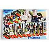 Greetings From St. Augustine Florida Fridge Magnet (2 x 3 inches)