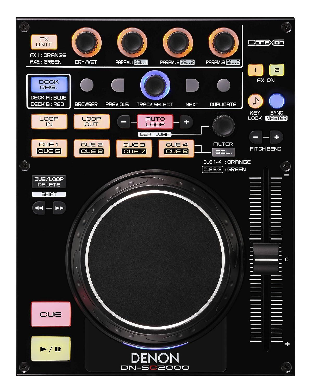 Amazon.com: Denon DJ DN-SC2000 Single 2 Deck MIDI Controller: Musical  Instruments
