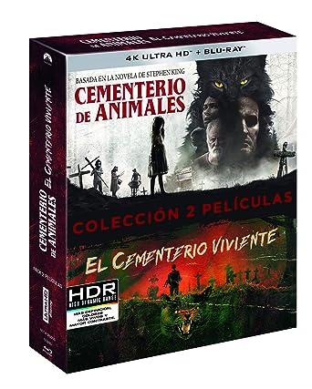 Pack: Cementerio Viviente + Cementerio de Animales 4K UHD + BD Blu-ray: Amazon.es: Jason Clarke, Amy Seimetz, Dale Midkiff, Denise Crosby, Mary Lambert, Kevin Kölsch, Dennis Widmyer, Jason Clarke, Amy Seimetz, Paramount