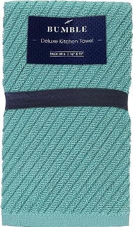 Amazon.com: Bumble Deluxe - Juego de 6 toallas para barmop ...