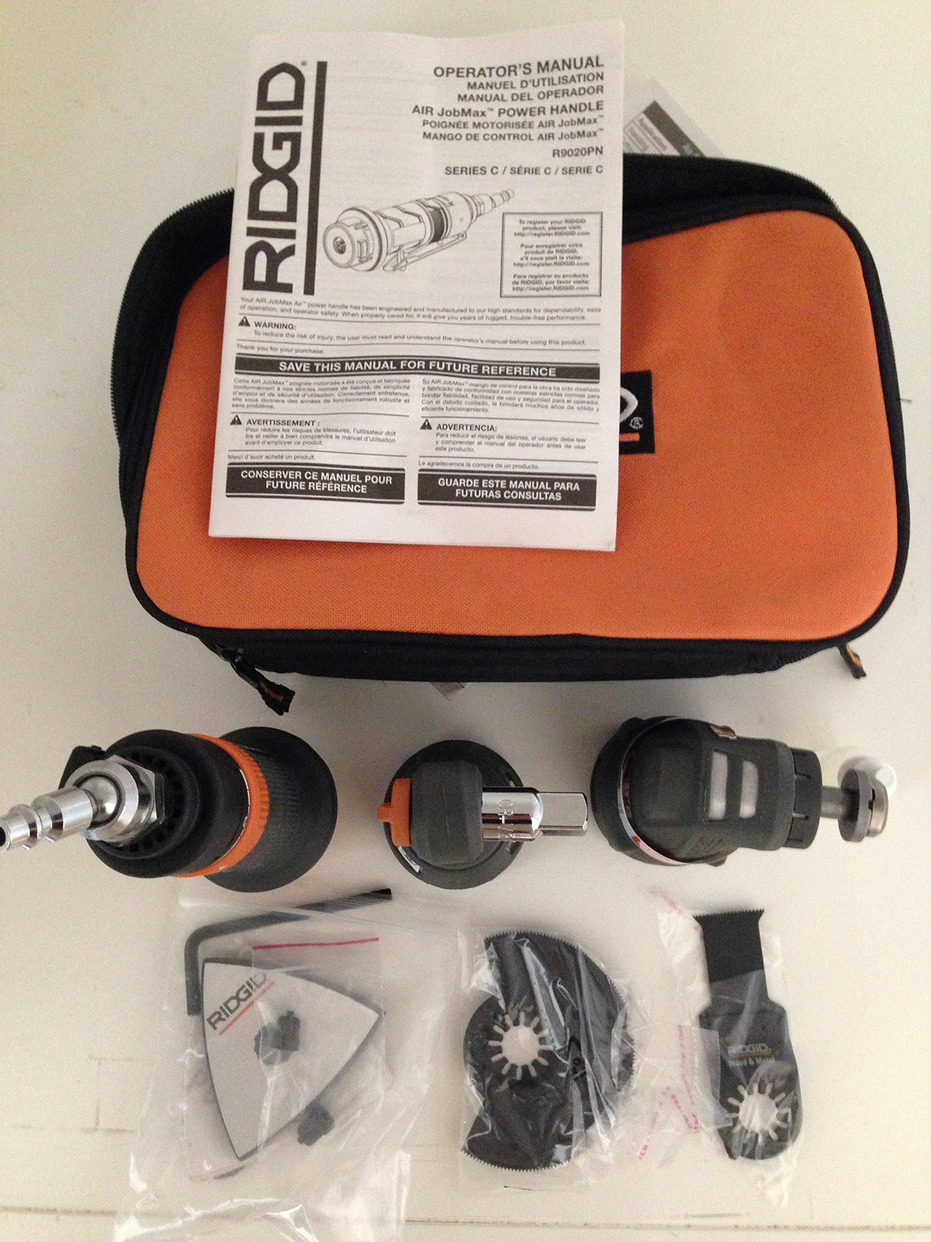 Ridgid JobMax Pneumatic Base Console R9020PN