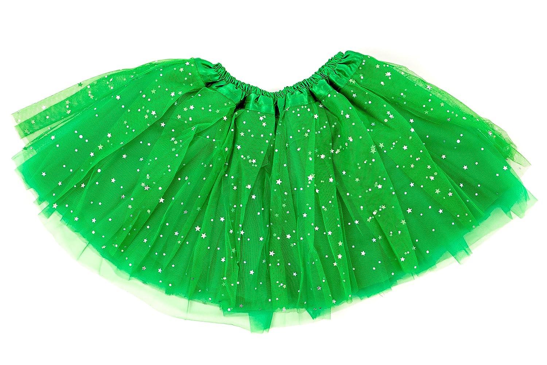 c9329c0968 Dancina Falda Tutú con Brillos de Ballet para Niñas de 2 a 7 años ...