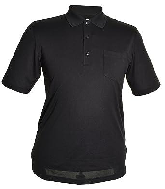 Greg Norman para Hombre Play Dry Polo, Hombre, Color Negro, tamaño ...