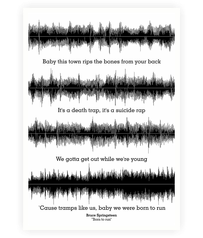 Amazon Lab No 4 Bruce Springsteen Born To Run Lyrics Quotes