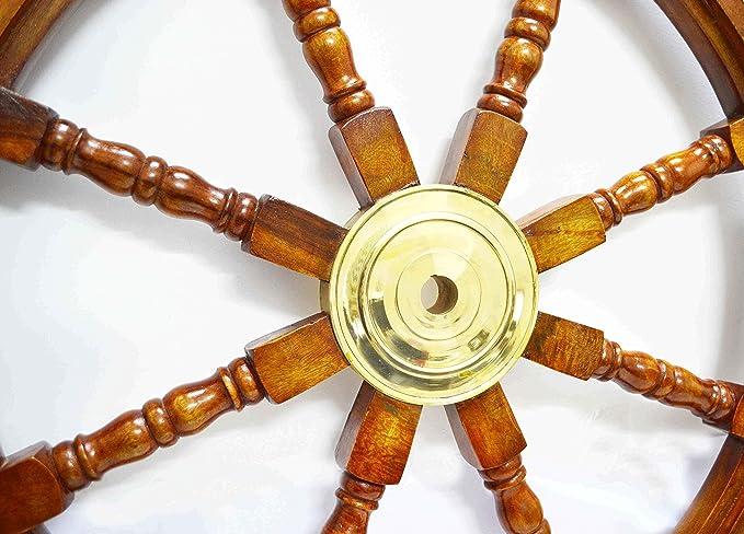 Amazon.com: Ship Wheel Ships Steering Wheel Boat Wheel Pirate Ship ...