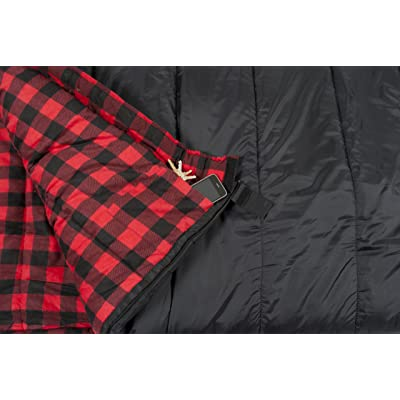TETON Sports Celsius XXL -18C/0F Sleeping Bag rating
