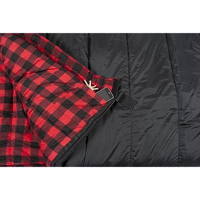TETON Sports Celsius XXL -18C/0F Sleeping Bag rating