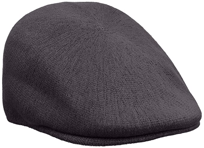 842827d4 Kangol Bamboo 507 Flat Cap, Grey (Charcoal), Medium