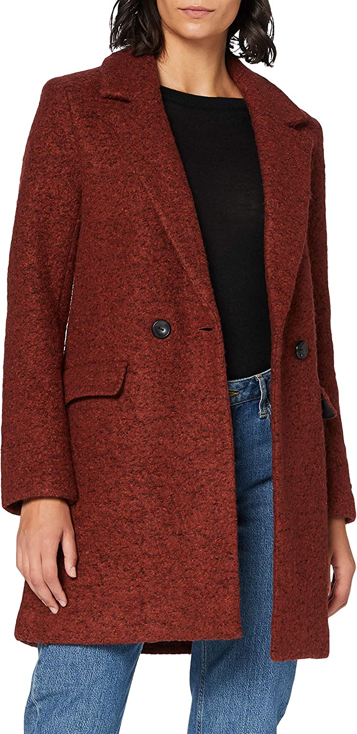Only Onlnewally Wool Coat CC Otw Cappotto di Lana Donna