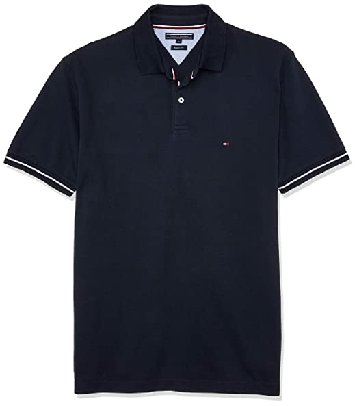 ff41a9ac8 Tommy Hilfiger S/S 1985 Polo, Sky Captain: Amazon.co.uk: Clothing