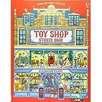 Dolls House Sticker Book Toyshop