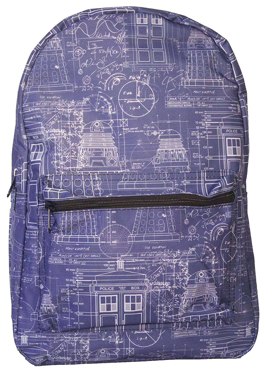 Doctor Who Blueprint Sublimated Backpack