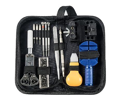30teilig Reloj Juego de herramientas en bolsa de nailon Herramienta Relojero Herramienta Abridor
