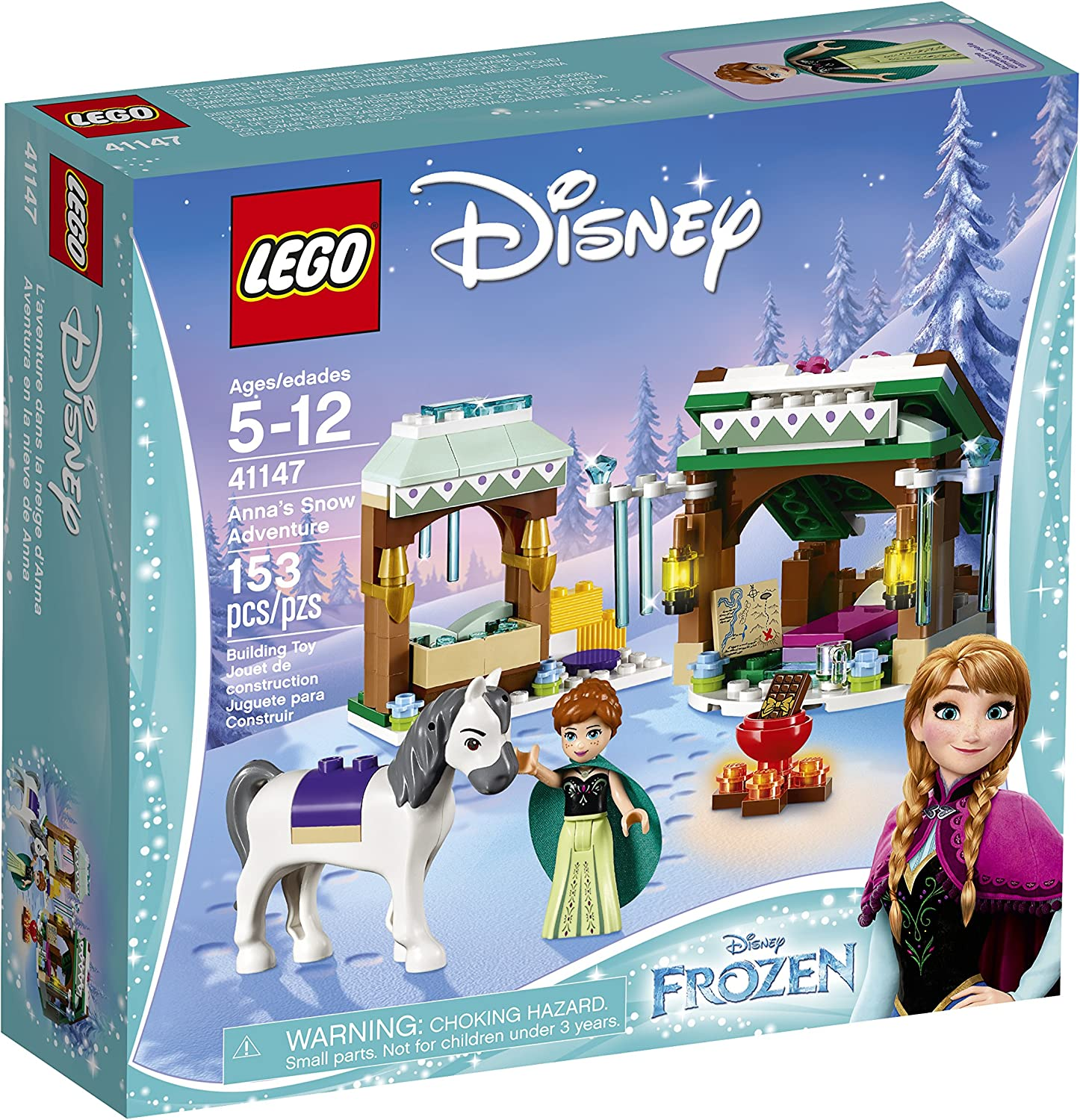 LEGO Disney Frozen Anna's Snow Adventure 41147, Disney Princess Toy