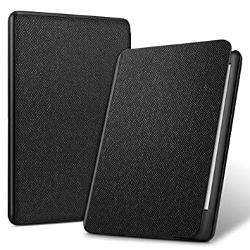 ELTD Funda Carcasa para Nuevo Kindle (10th Generation 2019 Release), Ultra Delgado Fundas Duras Cover Case para Kindle E-Reader 2019, (Negro)
