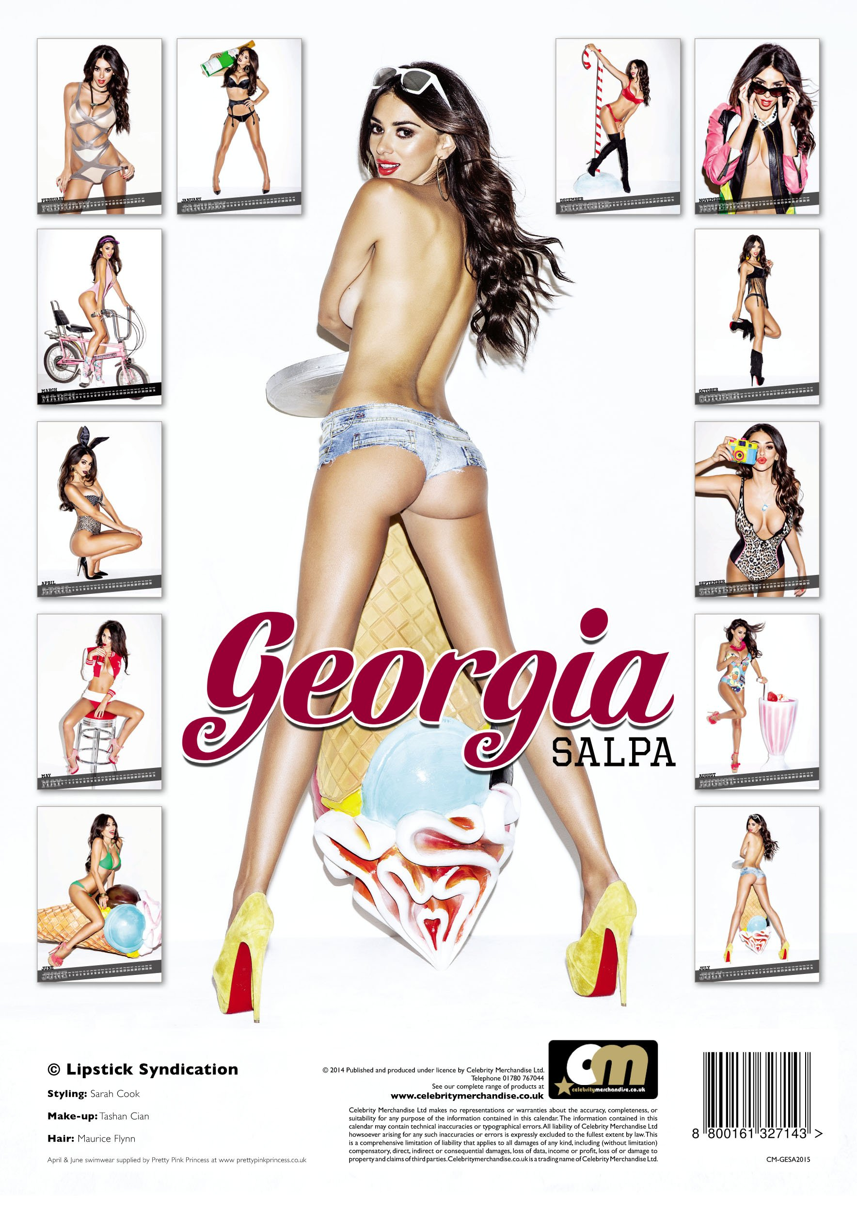 Gegia Calendario.Georgia Salpa 2015 Calendar Amazon Co Uk Www