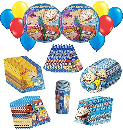 Amazon Com The Rugrats Party Pack 66pc Including Napkins Plates