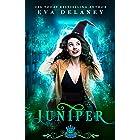 Juniper: A paranormal reverse harem comedy (Spell Library Book 2)