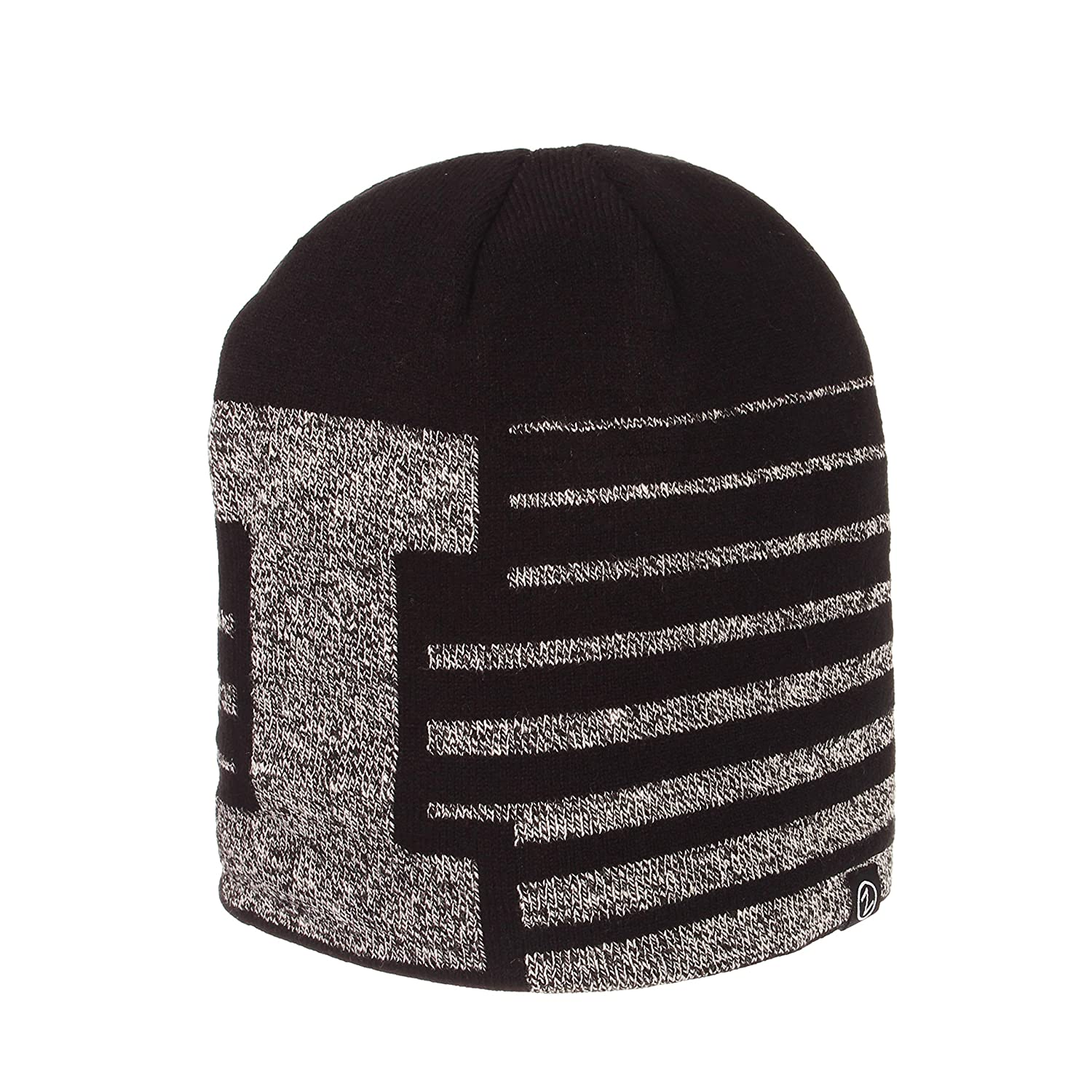 OSFM NCAA Zephyr Illinois Illini Mens Strata Knit Hat Black
