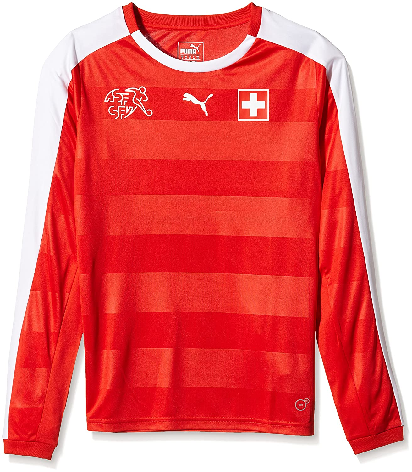 Puma Damen Langarm Suisse Home Long Sleeve Shirt