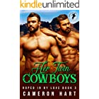 Her Twin Cowboys: BBW MFM Romance (Roped in by Love Book 3)