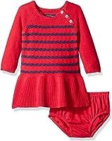 Amazon.com: Nautica Baby Girls&39 Short Sleeve Rugby Dress: Infant ...