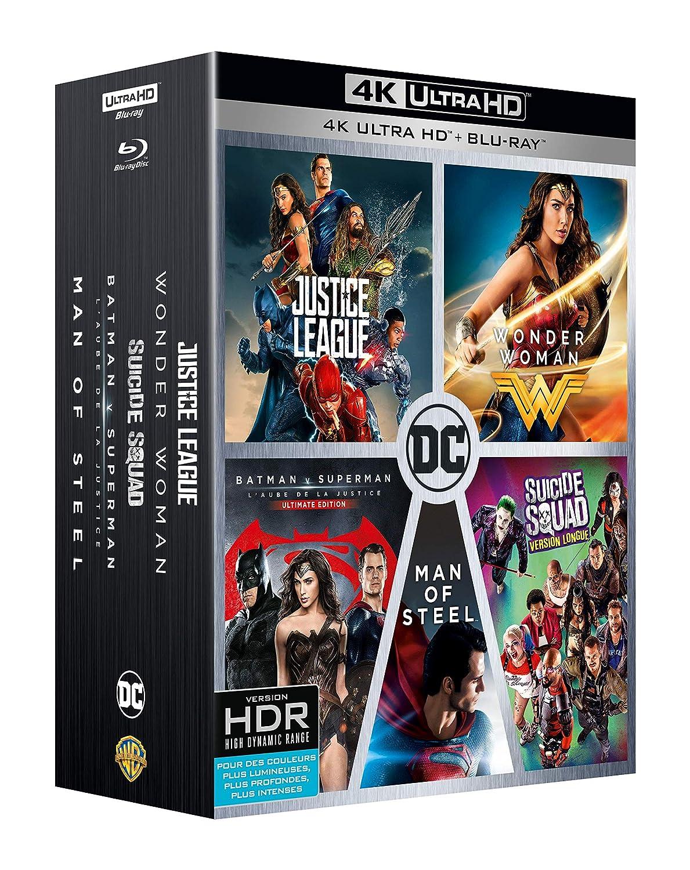 DC Universe - Lintégrale des 5 films : Justice League + Wonder ...