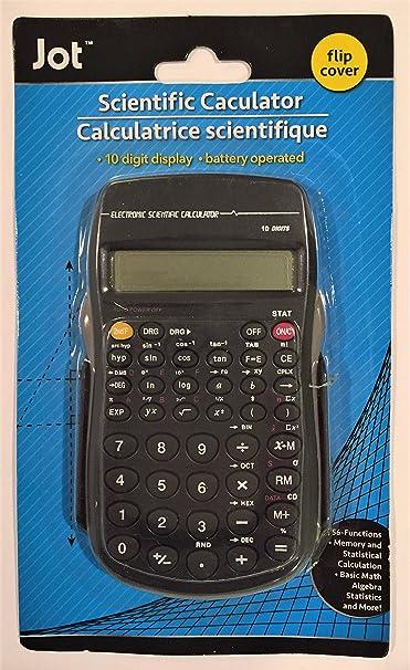 Amazon.com : Jot Scientific Calculator with Flip Cover : Electronics