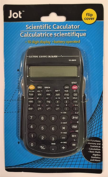 Amazon.com : Jot Scientific Calculator with Flip Cover : Electronics