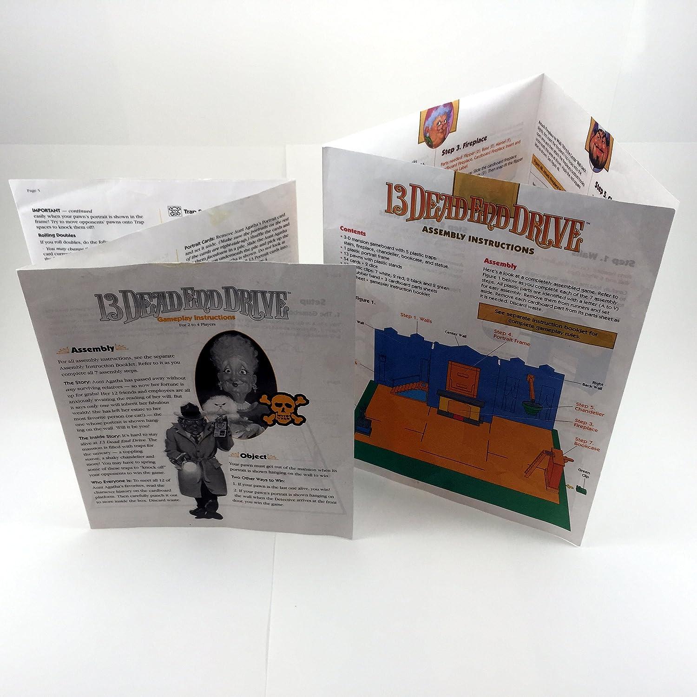 amazon com 13 dead end drive board game by milton bradley toys