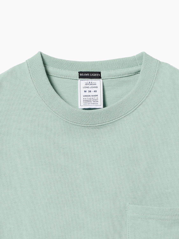 420b0cf21ca3a6 Amazon | (ビームスライツ)BEAMS LIGHTS/Tシャツ JE MORGAN × BEAMS LIGHTS/別注 ポケットTシャツ  メンズ WHITE M | Tシャツ・カットソー 通販
