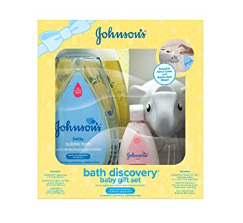 Johnsons Bath Discovery Baby Gift Set Essentials For Parents To Be