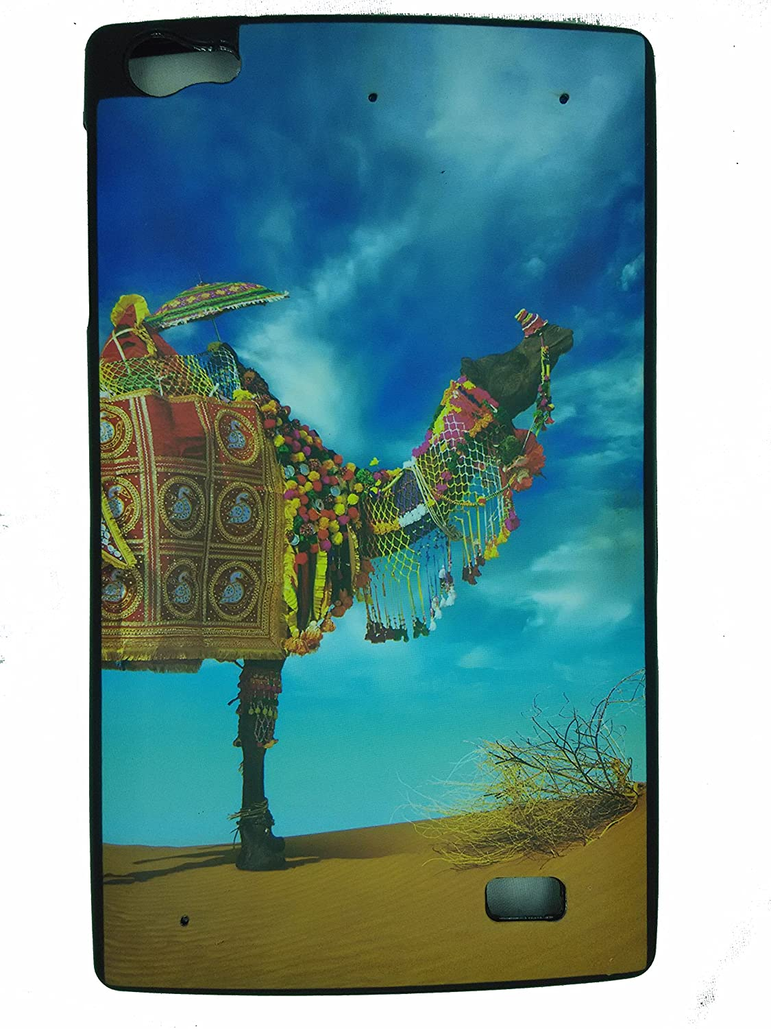 size 40 ace5e 51b48 SR RUBBERIZED BACK COVER FOR MICROMAX CANVAS P480 TAB(MR CAMEL)