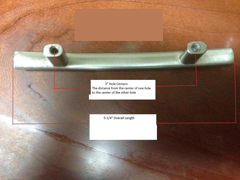 Cosmas 2363-3SN Satin Nickel Subtle Arch Cabinet Hardware Handle ...