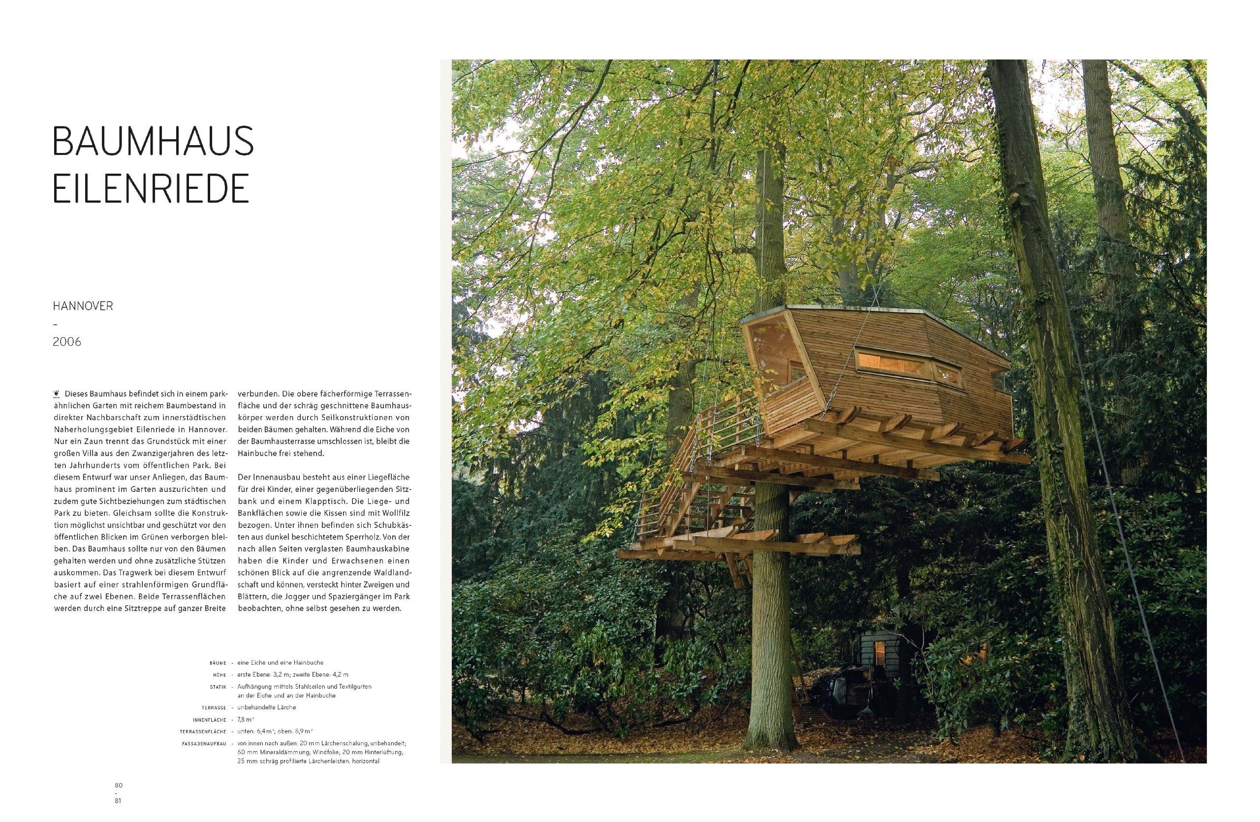 Baumhaus Hannover baumhäuser neue architektur in den bäumen amazon de andreas