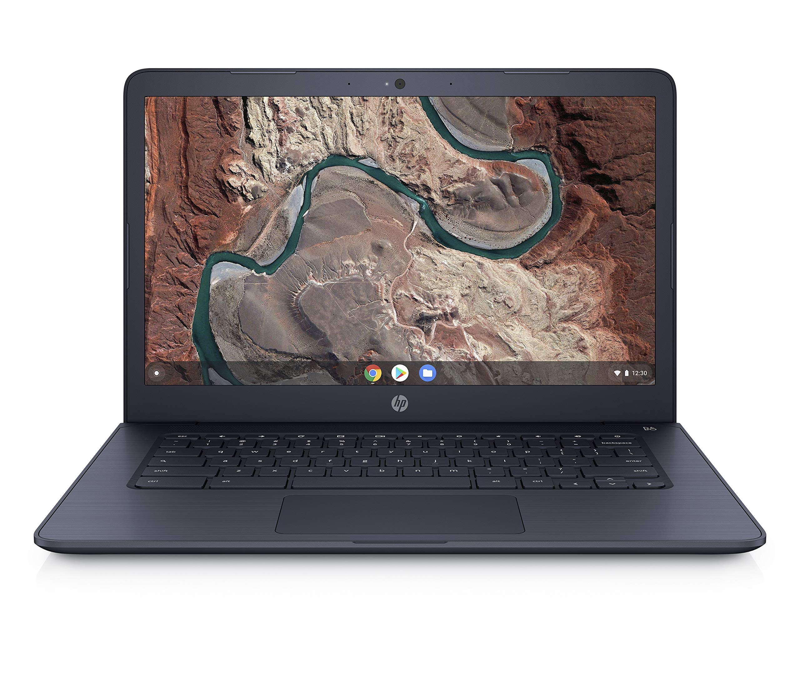HP 14inch FHD(1920X1080) IPS Chromebook AMD Dual-Core A4-9120C Processor, 4GB DDR4 Memory, 32GB eMMC Storage, AMD Radeon R4 Graphics, Chrome OS- (Renewed) by HP